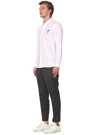 Academia Uzun Kollu Gömlek Beyaz